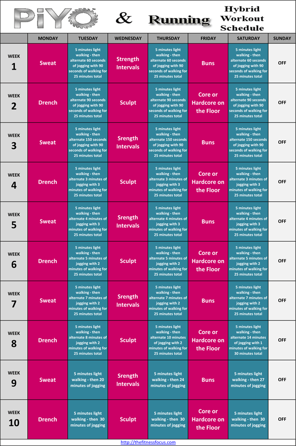 At Home Workout Plan - Your Modern Family