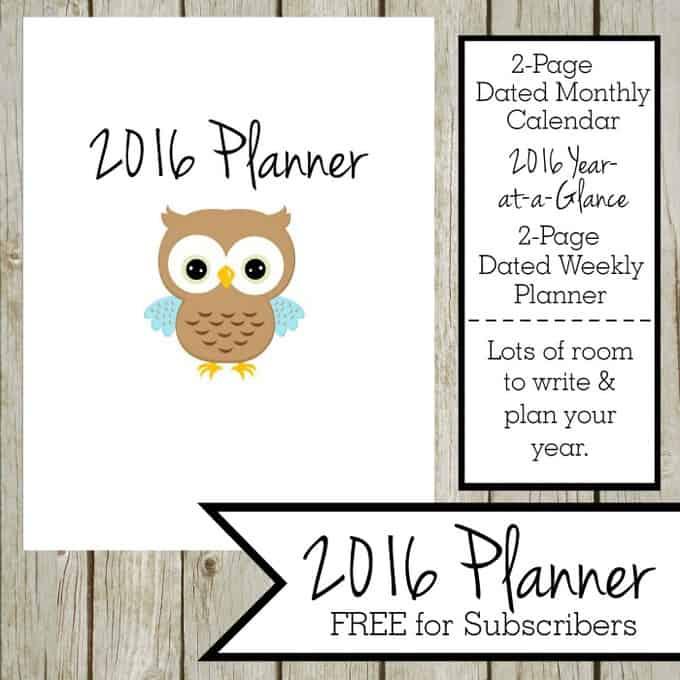 2016-Planner-Black