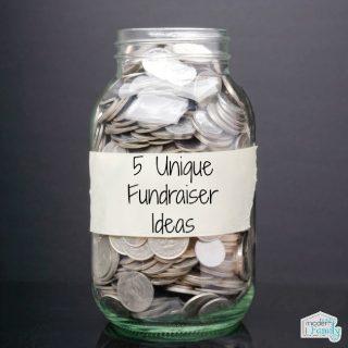 5 unique fundraiser ideas!