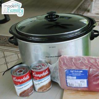 2 ingredient french onion pork (crock pot)