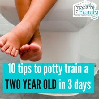 Potty training a 2 year old