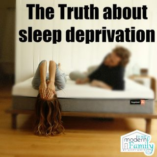 The truth about sleep deprivation in parents