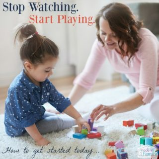 How to play with your kids instead of just watching