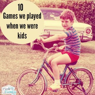 10 games we used to play as kids