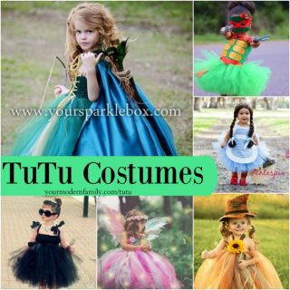 TuTu costumes for little girls