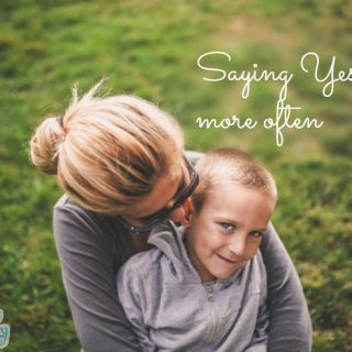 Saying Yes to Your Kids