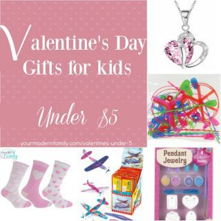 Valentine's Day gifts for kids under $5