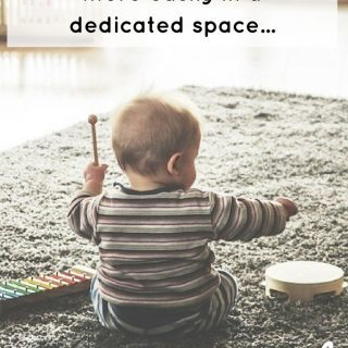 Create a dedicated learning space for your child with autism at home