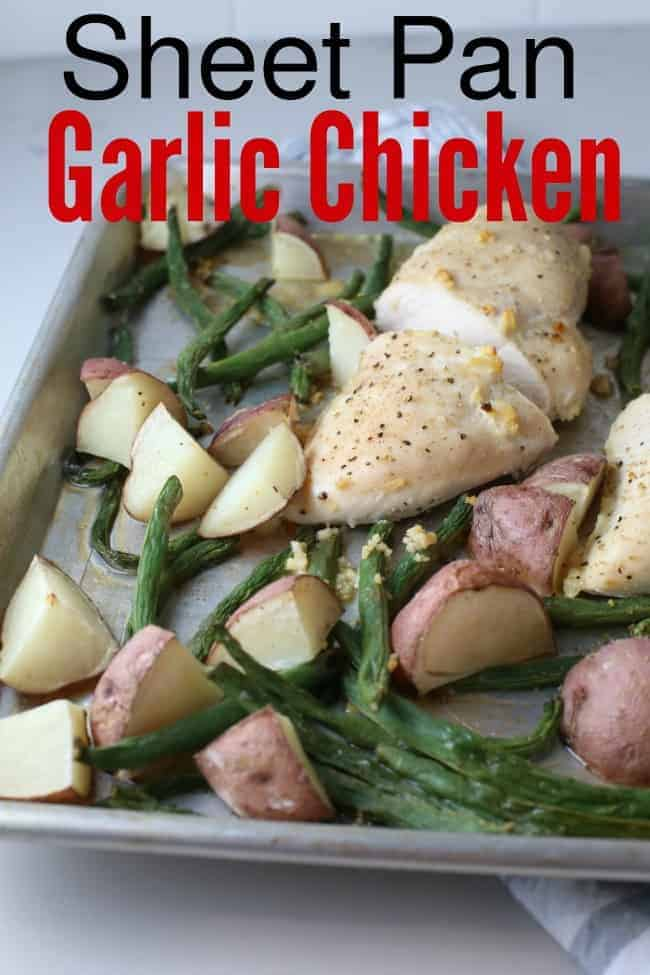 Sheet Pan Garlic Chicken Recipe