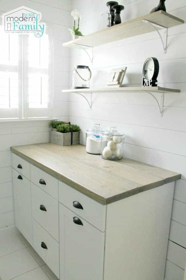 laundry room fixer upper style