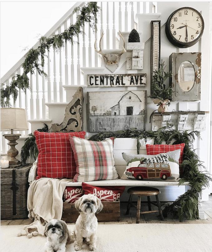 the best modern farmhouse christmas decor ideas