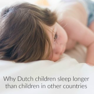 Why Dutch children sleep longer than children in other countries