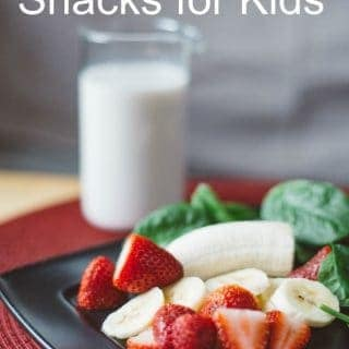 25 Quick & Healthy snacks for kids