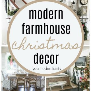 The BEST Modern Farmhouse Christmas Decor ideas!
