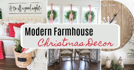 40 Rustic Living Room Ideas To Fashion Your Revamp Around: The BEST Modern Farmhouse Christmas Decor Ideas!