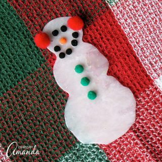 Make a Snowman from Glue