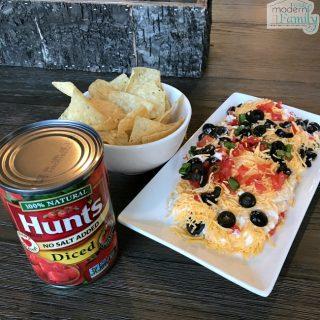 Simple Layered Taco Dip
