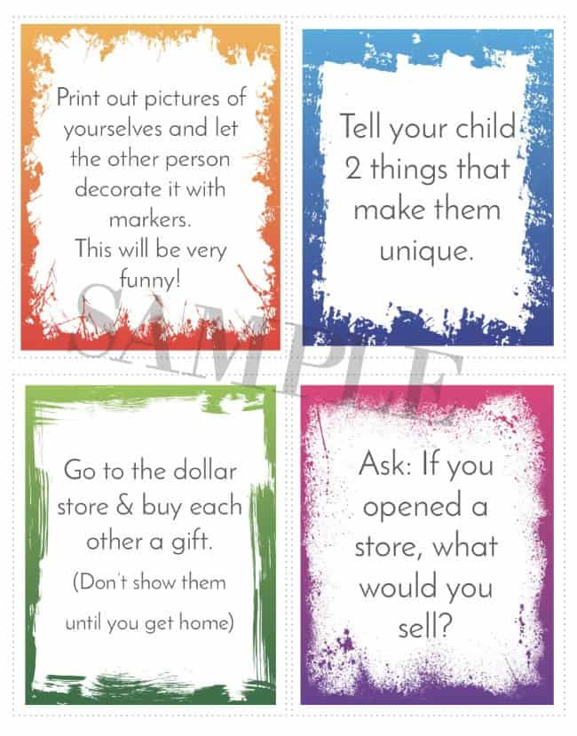 40 days of lent cards for kids