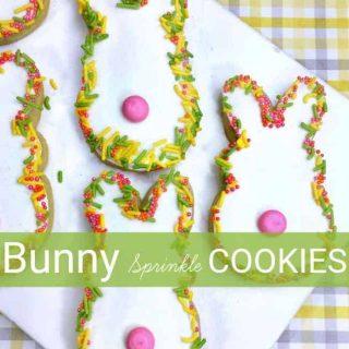 Bunny Sprinkle Cookies