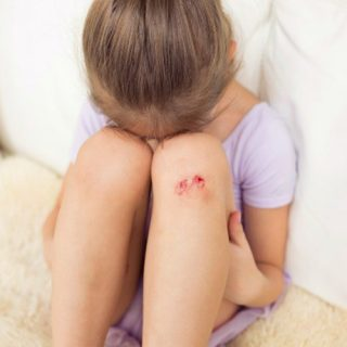 Covering Wounds: Teaching Kids to Get Back Up.