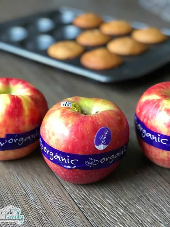 Organic Apple Muffins