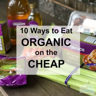 Organic on the Cheap (& a recipe we love)