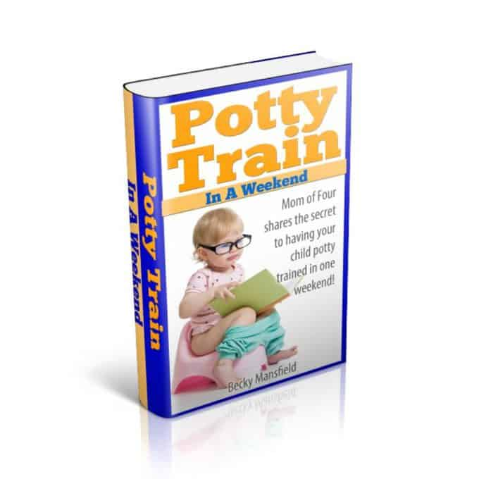 Potty Train In A Weekend Cover 2